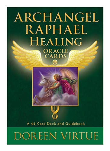 Archangel Raphael Healing Oracle Cards: A 44-Card Deck and Guidebook