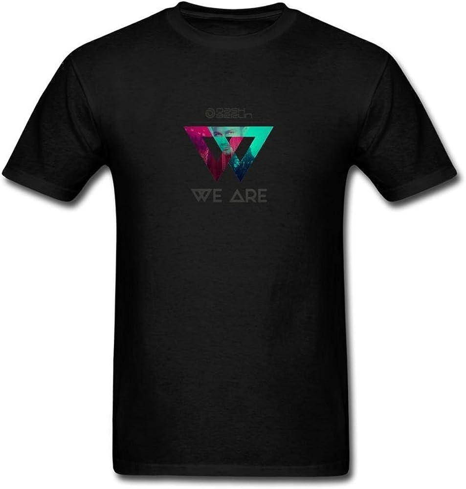 ZHENGXING Men's Dash Berlin We Are Logo T-Shirt S ColorName Short Sleeve