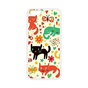 "SYYCH Phone case Of Cartoon Cat Cover Case For iPhone 6 Plus (5.5"")"
