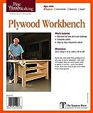 Fine Woodworking's Plywood Workbench Plan