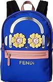 Fendi Kids Women's Flower Eyes Headphone Backpack Blue One Size