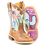 Tin Haul Footwear Boys Tin Haul Kids Cactilicious Raised to be Sharp 7in Boot 3 Brown