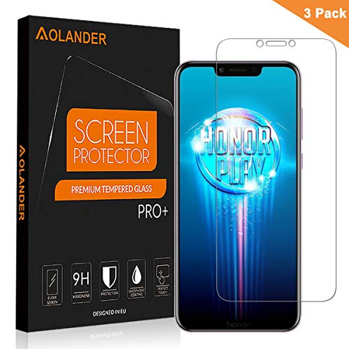 Aolander Huawei Honor Play Screen Protector,    Tempered
