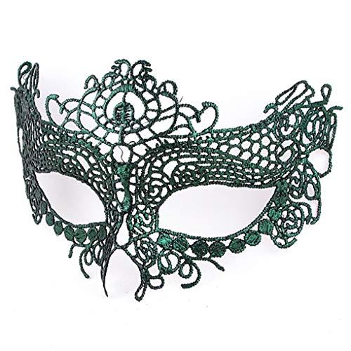BaiYunPOY Mask Lace, Womens Masquerade Venetian Mask for Carnival -