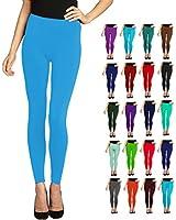 Lush Moda Seamless Full Length Basic Leggings - Variety of Colors