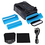 MagiDeal Mini Vacuum Air Extracting USB Cooling Pad Cooler Fan Speed Control For PC