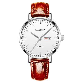Amazon.com: KASHIDUN - Reloj de pulsera para hombre, de lujo ...