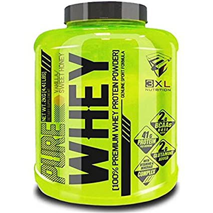 3XL Pure Whey 2 kg Chocolate Blanco Caramelo y Canela