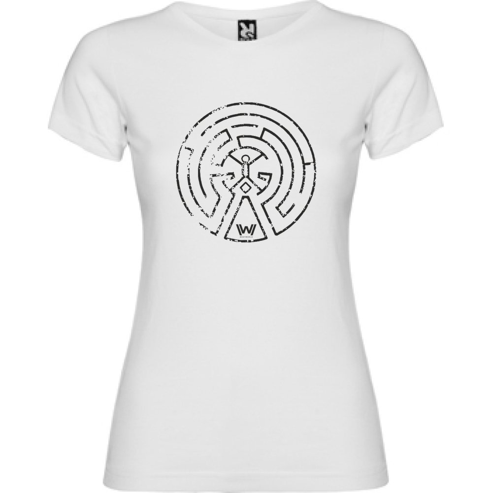 Bikerella T-Shirt Manica Corta Donna Westworld Labirint by