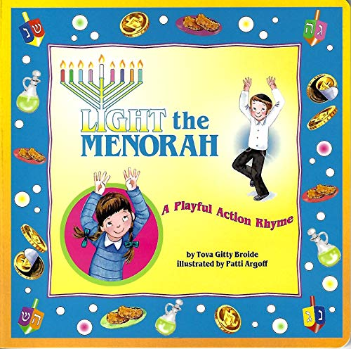 Light the Menorah - A Playful Action Rhyme