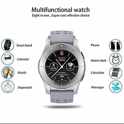 Smartwatch Relojes Deportivo Relojes Inteligentes,Podómetro,multideporte,Seguimiento de calorías,notificaciones de