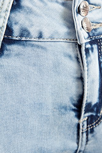Skinny Mujer Vaqueros Acid Bleu para Bestyledberlin zpRxAq