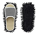 Microfiber Slippers Floor Cleaning Mop Men and Women Unisex House...