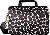 Marc Jacobs Painted Dots 13'' Commuter Case, Black Multi, One Size