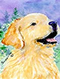 Caroline's Treasures SS8904CHF Golden Retriever Flag Canvas, Large, Multicolor For Sale