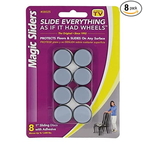 Round Furniture Sliders 1' - Pack of 8 US Cargo Control CECOMINOD032535