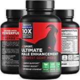 - 51R P3qvAlL - AZS Premium Male Enhancing Pills – Enlargement Booster for Men [10X Strength] – Increase Drive, Stamina & Endurance – Fast Acting & Natural Horny Goat Weed Supplement with 100mg Icariins