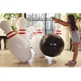 Strikes and Spares Jumbo Inflatable Bowling Set. Great for all Ages
