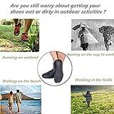DoDoMagxanadu Silicone Shoe Covers Rain Boot Shoe
