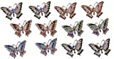 StealStreet SS-G-97706 Refrigerator Fridge Magnet Collection Butterfly Copper Decoration