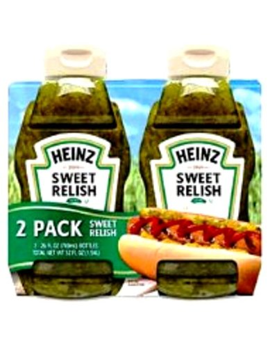Heinz Sweet Relish Pickles, 52 Ounce (Pack of 12)