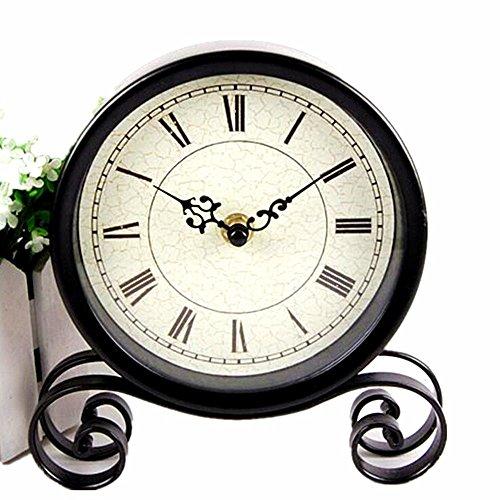 Boudoir Table Clock - Vintage Feel 6