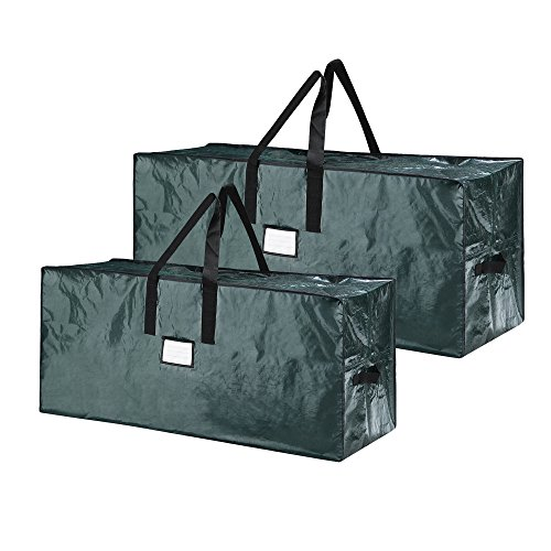 Elf Stor 83-DT5520 Green Christmas Bags Holiday Set for X-Large Trees up to 17 feet