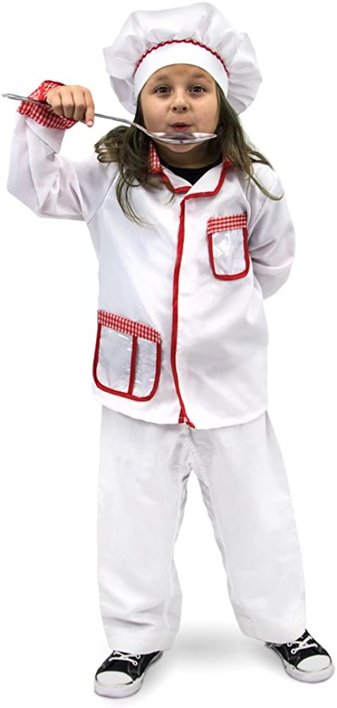 Master Chef Kids Halloween Costume, Cooking Dress Up & Baking Roleplay Clothes