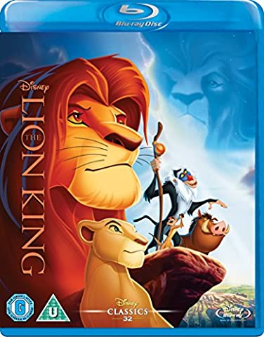 The Lion King [Blu-ray] [UK Import] (The Lion King 3d Blu Ray)