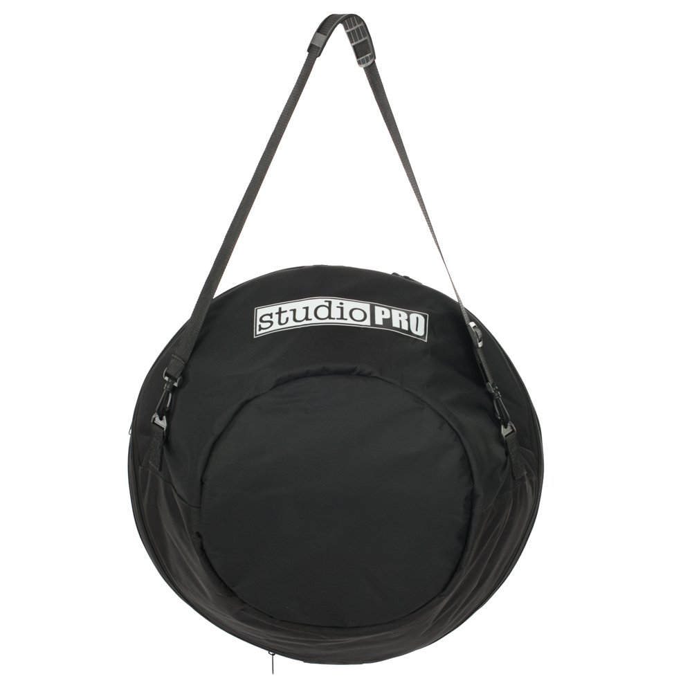 """Fovitec StudioPRO - 22"""" Beauty Dish Carrying Case - [22 Inch][Black][Expandable Storage][Bag and Extendable Strap Included]"""