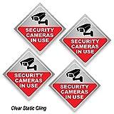 Security Camera Sticker - Video Surveillance Sign