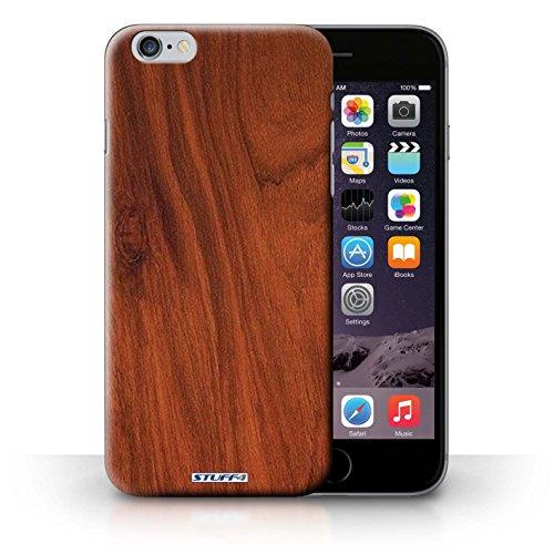 Kobalt® protector duro de nuevo caso / cubierta para el iPhone 6+/Plus 5.5 | Caoba Diseño | Efecto de grano de madera/patrón colección