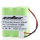 4200 irobot - TOPCHANCES 2000mAh Battery Replacement for iRobot Braava 320 321 & Mint 4200 4205 Cleaner Robot 4408927