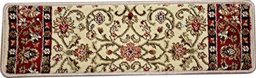 (Dean Premium Carpet Stair Treads - Classic Keshan Antique 31