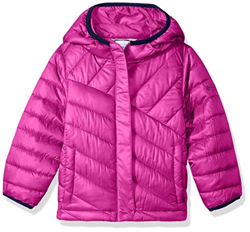 Girls Puffer Jacket - Columbia Big Boys' Powder Lite Puffer Jacket, Deep Blush, Medium