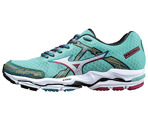 4 pink Wave Shoes Mizuno Running Women's green Enigma dEUnHqU0