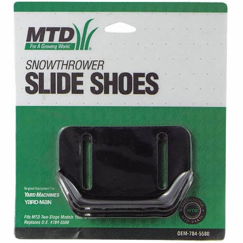 Arnold OEM-784-5580 MTD Genuine Parts Snow Thrower Slide Shoes