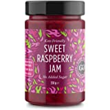 Sweet Raspberry Jam - Keto Friendly - 12 oz / 330 g - No Added Sugar Raspberry - Keto - Vegan - Gluten Free - Diabetic…