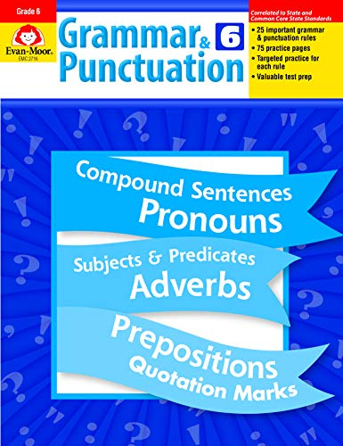 Grammar and Punctuation, Grade 6 (Punctuation Exercises With Answers For Grade 6)