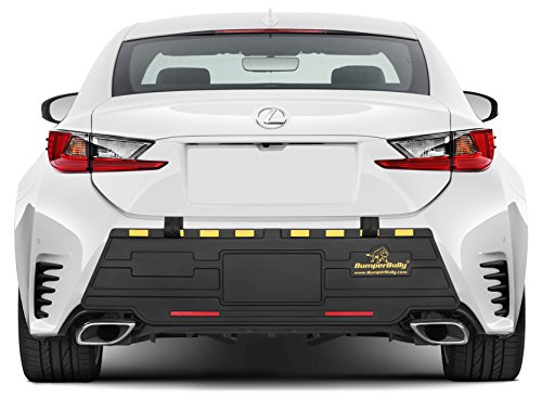 GOLD EDITION Bumper Bully Extreme – The Ultimate Outdoor Bumper Protector, Rear Bumper Guard, Extreme Bumper Protection, STEEL REINFORCED STRAPS PREVENT THEFT !