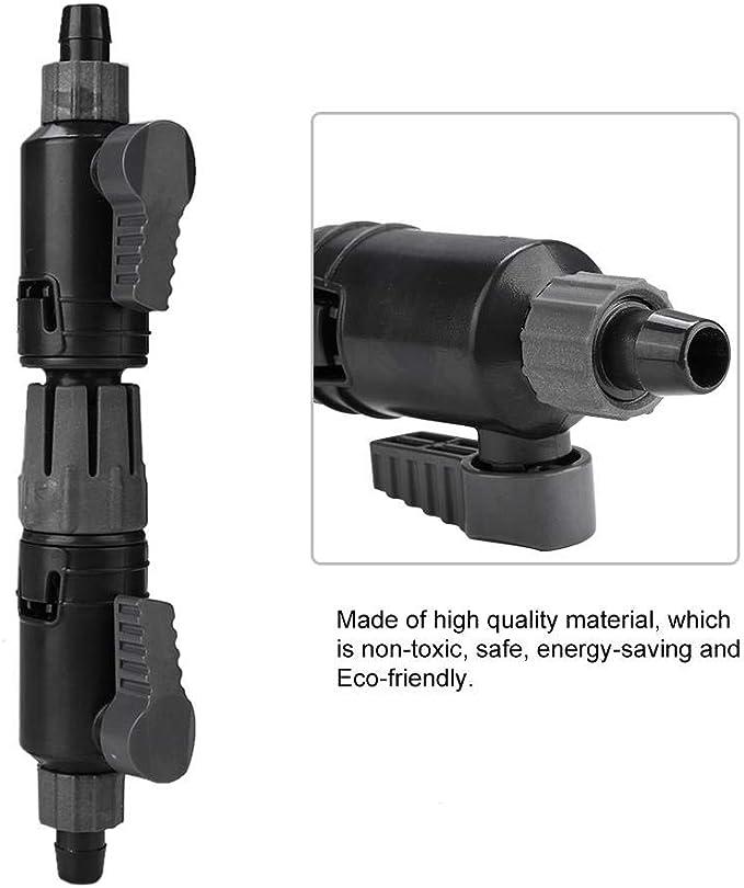 per acquario valvola di controllo del flusso dacqua 16-22 mm iFCOW connettore a sgancio rapido tubo a rilascio rapido