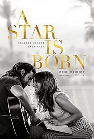 CHOOSE YOUR SIZE A Star is Born Poster new 2018 Movie Cooper Lady Gaga FREE P+P