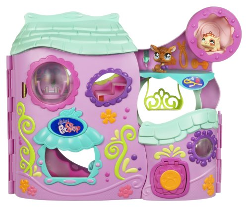 Hasbro Littlest Pet Shop Tail Waggin Fitness Club Playset