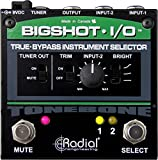 Radial BigShot I/O True-bypass Instrument Selector