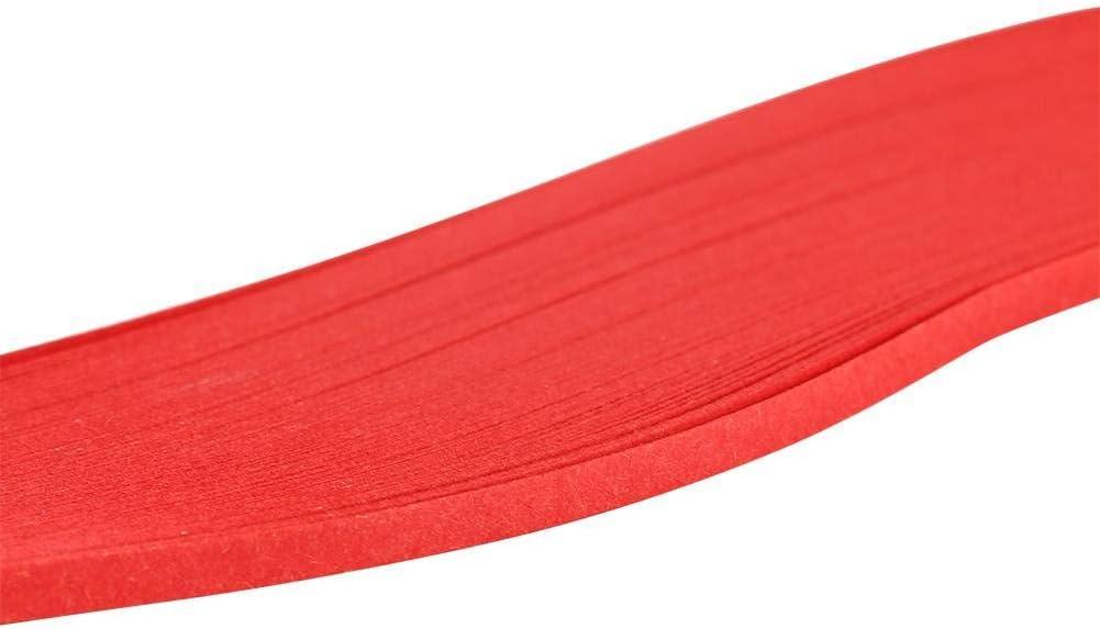 象牙白 Paper Quilling Strip 600 Strips Colorful Art Paper Strips 3mm Width Pure Color Origami Paper DIY Paper Hand Craft Decoration