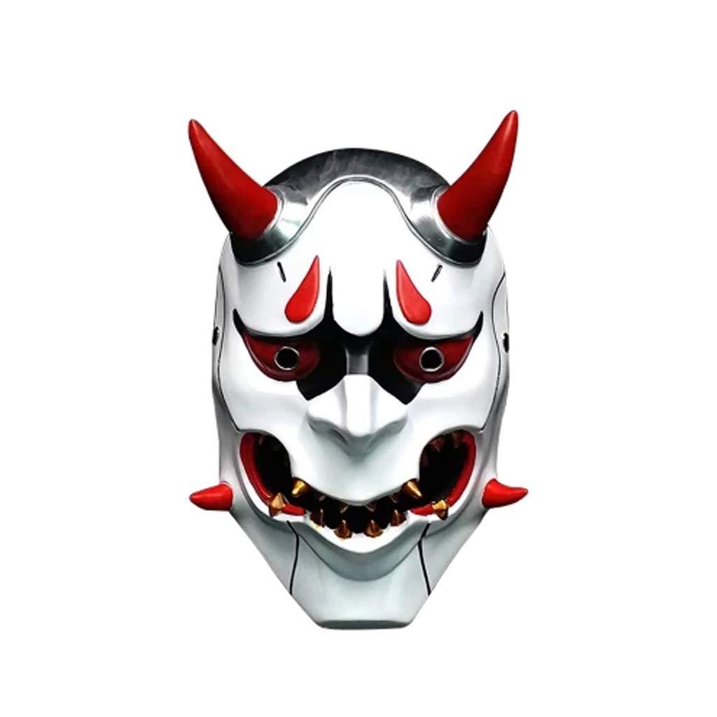 Gfdhj Halloween Horror Kostüm, böse Maske Maske Maske Cosplay Requisiten Geschenke Unisex - Erwachsene, Single Größe d71662