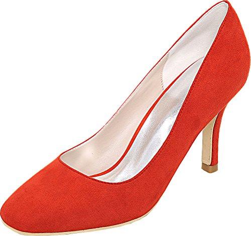 Rouge EU Compensées Nice Red Find 5 Femme Sandales 36 IxH8nRPw