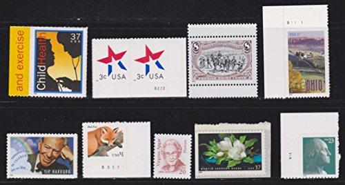 Child Health Yip Harrburg Fox Flower Ohio USA Postage Stamps - Dog Stamp Postage