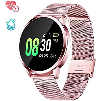 Amazon.com: Zuoli Smart Watch Fitness Tracker with Heart ...