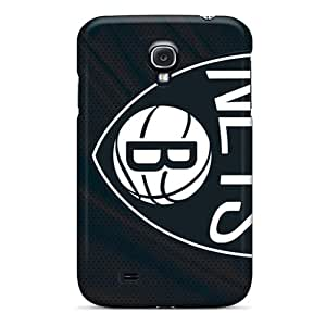 Awesome XVE9582hvAa GRleal Defender Tpu Hard Case Cover For Galaxy S4- Brooklyn Nets